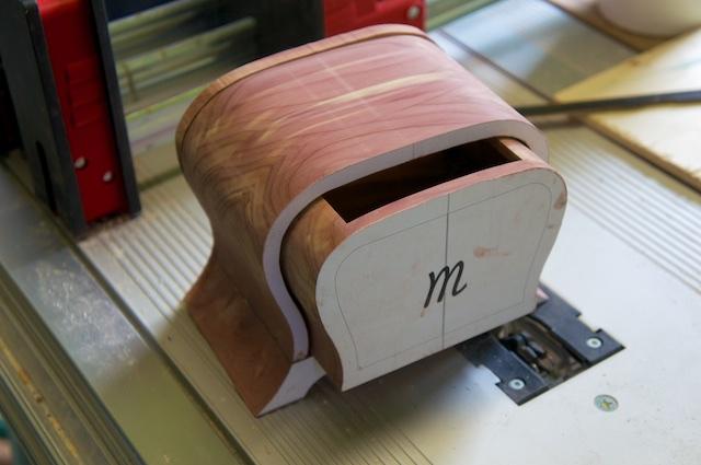 eine bandsaw box f r mathilda okras werkstatt. Black Bedroom Furniture Sets. Home Design Ideas